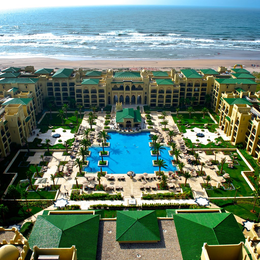 Mazagan Resort aerial