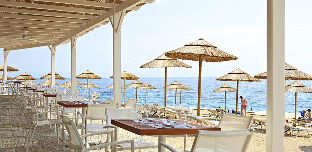 Marbella Beach Hotel restaurant