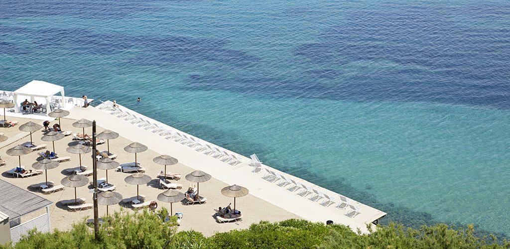 Marbella Beach Hotel beach