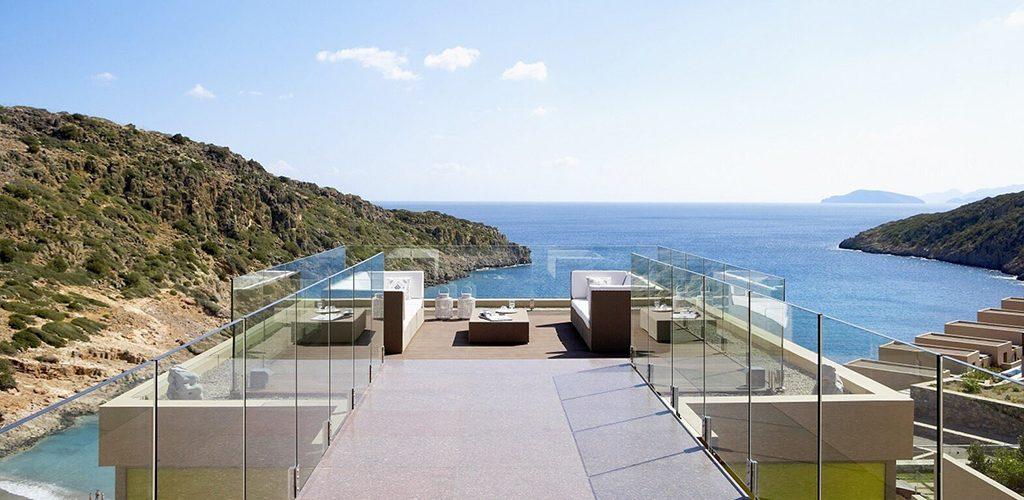 Daios Cove belvedere