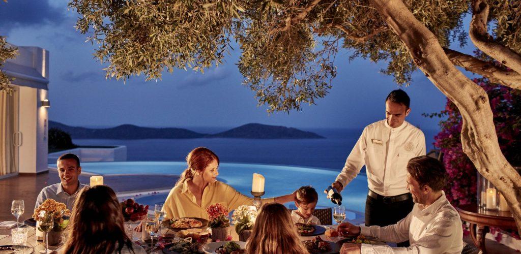 EGV - Royal Spa Villa private dining