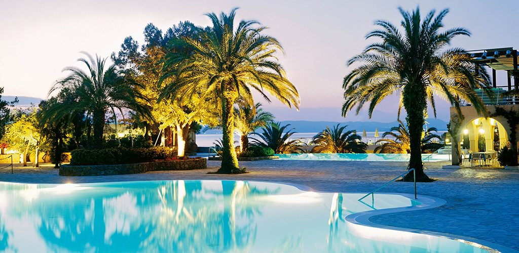 Pool at Marbella Beach Hotel - Corfu