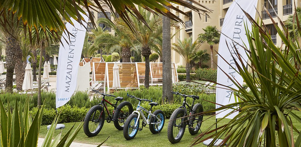 Mazagan Resort cycling