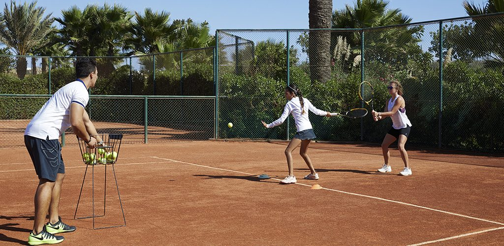 Mazagan Resort tennis