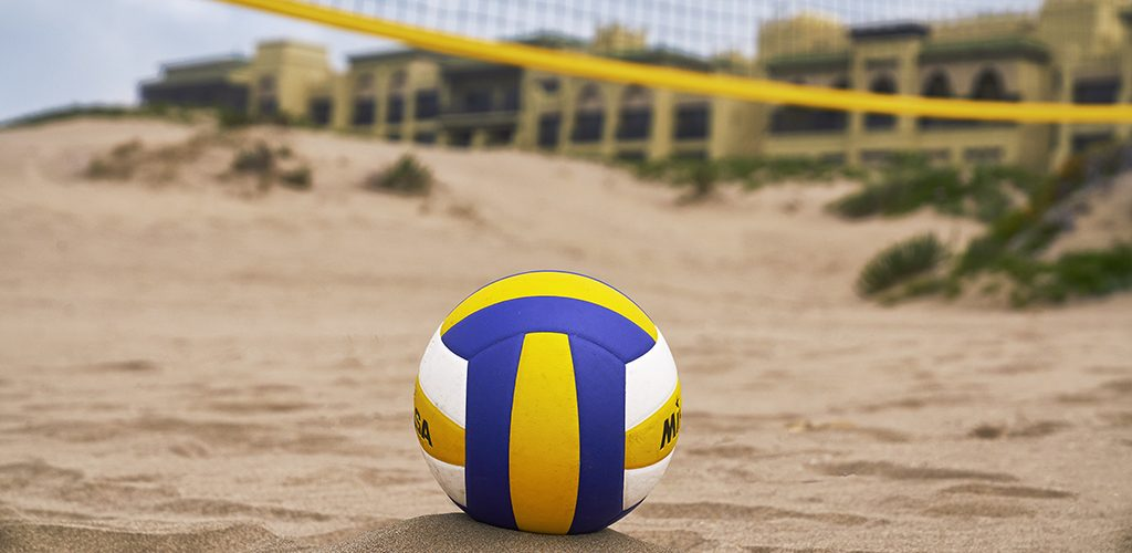 Mazagan Resort volleyball