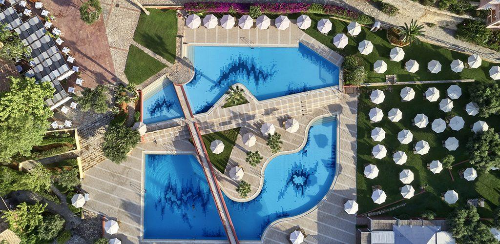 Candia Park Village aerial pool